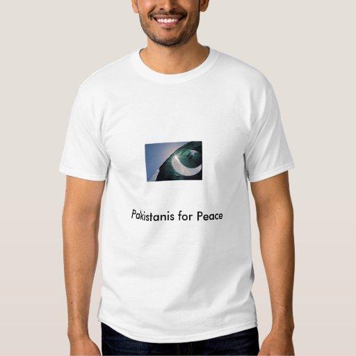 flag, Pakistanis for Peace T-shirt