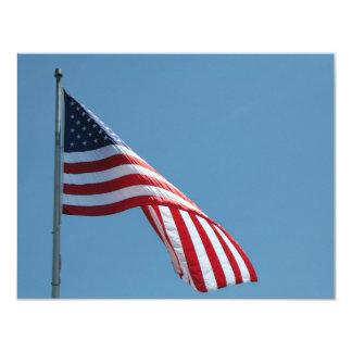 Flag!  Patriotic colors! Card