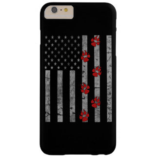 Flag Paws Barely There iPhone 6 Plus Case