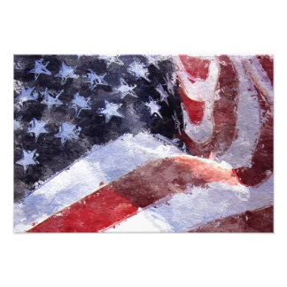 Flag Photo Print