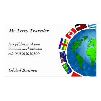 Flag Planet Business Cards