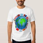Flag Planet T Shirt