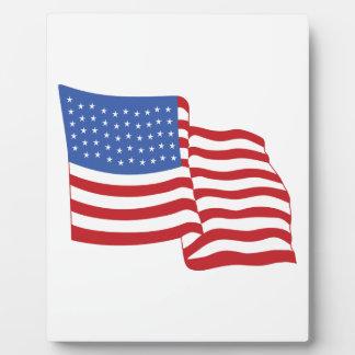 FLAG PLAQUE