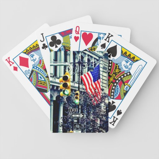 Flag playing cards