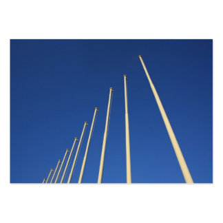 Flag Poles in Athens Greece  Business Cards