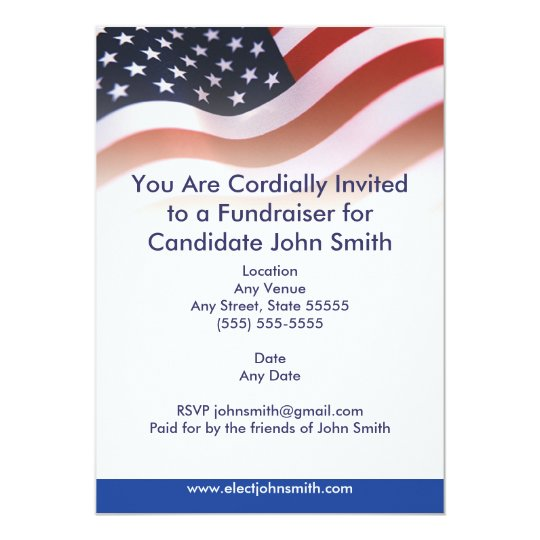 Fundraiser Invitations  Announcements  Zazzle