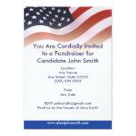 "Flag Political Invitation 5"" X 7"" Invitation Card"