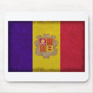 Flag principality Andorra Mousepad