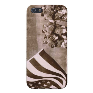 Flag Raising Ceremony 1914 Ebbets Field Cover For iPhone SE/5/5s
