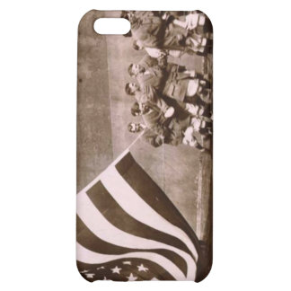 Flag Raising Ceremony 1914 Ebbets Field Case For iPhone 5C