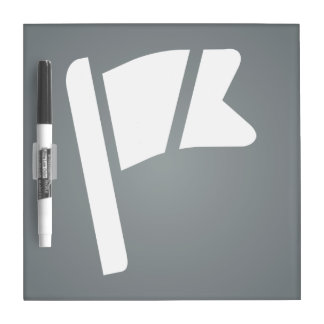 Flag Rips Pictograph Dry Erase Boards