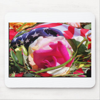 flag roses.jpg mouse pad