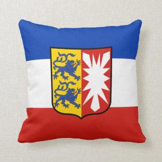 Flag Schleswig-Holstein Throw Pillow