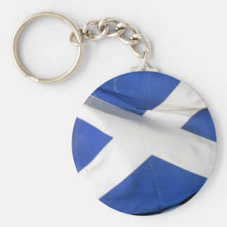 flag scotland keychain