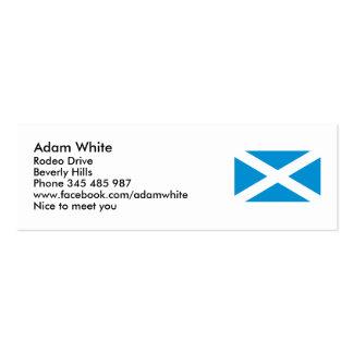 Flag Scotland Mini Business Card