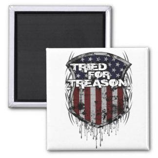 """Flag Shield"" 2x2 Magnet"