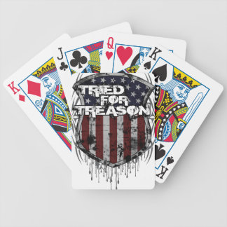 """""""Flag Shield"""" Playing Cards"""