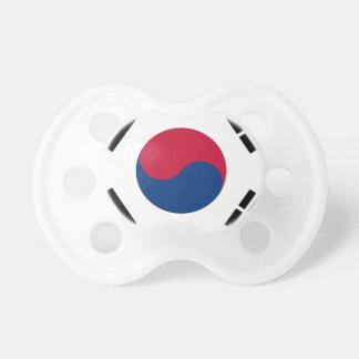 Flag South Korea 대한민국 Pacifier