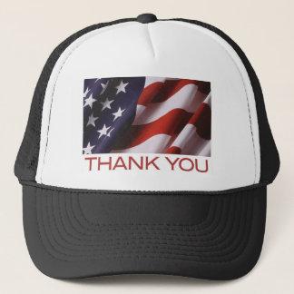 Flag-Thank You Trucker Hat