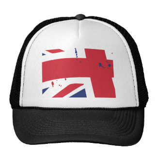 Flag the U.K. English London Trucker Hat