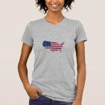 Flag the USA country Shirt