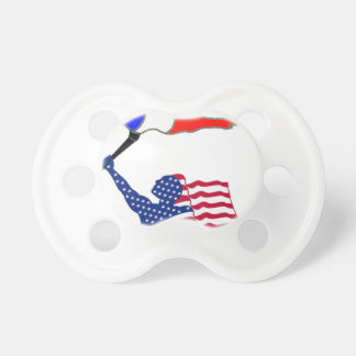 FLAG the USA FRANCE.png Pacifier