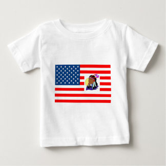 FLAG the USA INDIAN 1.PNG Tee Shirt