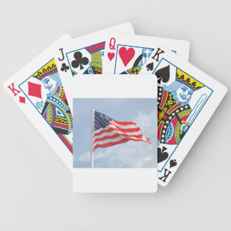 Flag U S A United States America Bicycle Playing Cards