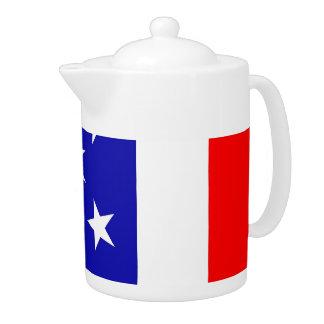 Flag United States Art Deco Teapot
