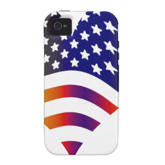 flag usa heart love american honor troops stripes iPhone 4/4S cover