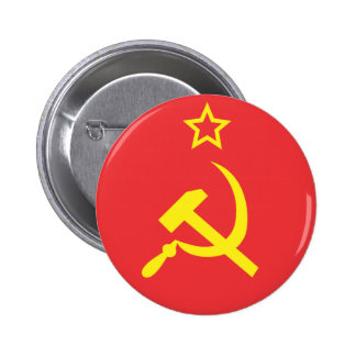 Flag USSR Button
