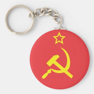 Flag USSR Keychain