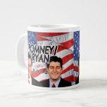 Flag w/Photo Romney/Ryan 2012 Jumbo Mug