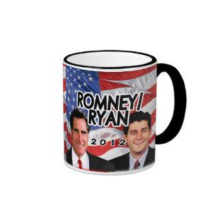 Flag w/Photo Romney/Ryan 2012 Ringer Mug