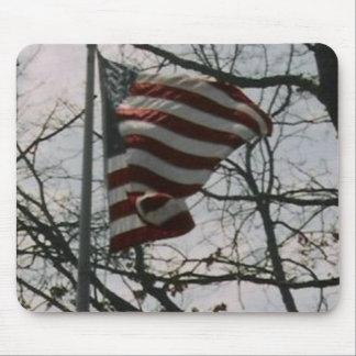 FLAG WAVING MOUSE MATS