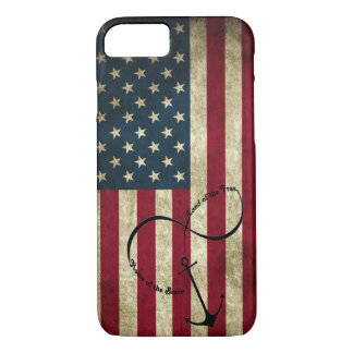Flag with Infinity Anchor iPhone 8/7 Case