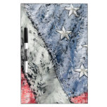 Flag with stars Dry-Erase whiteboards
