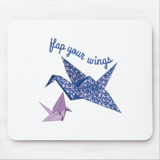Flag Your Wings Mousepad
