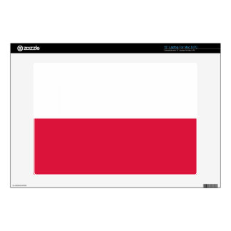 Flaga Polski - bandera polaca Calcomanía Para Portátil
