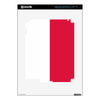 Flaga Polski - Polish Flag iPad 3 Skin