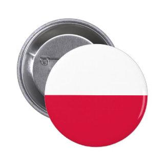 Flaga Polski - Polish Flag Pinback Button