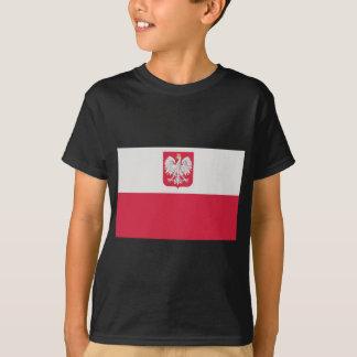 Flaga Polski z godłem - Flag of Poland T-Shirt