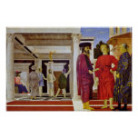 Flagelación de Cristo de Piero della Francesca Póster