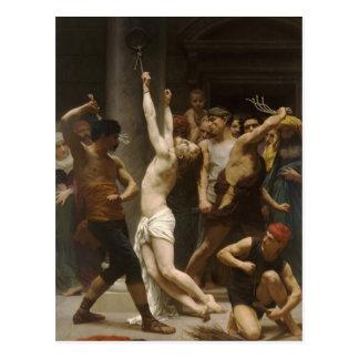 Flagelación de Guillermo Bouguereau- del Jesucrist Postales