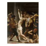 Flagelación de Guillermo Bouguereau- del Jesucrist Tarjetas Postales