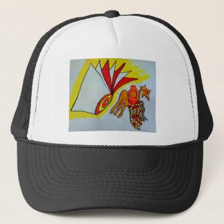 flagella amoeba art paint design original birthday trucker hat