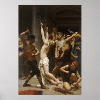 Flagellation De Notre Seigneur Jesus Christ Print