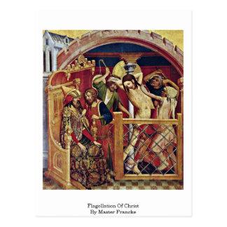 Flagellation Of Christ By Master Francke Postcards