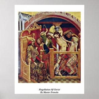 Flagellation Of Christ By Master Francke Print