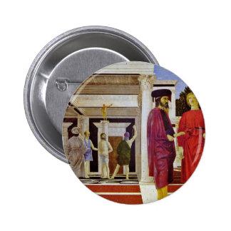 Flagellation Of Christ By Piero Della Francesca Buttons